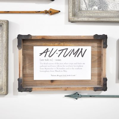 Autumn Definition Printable + 2 more