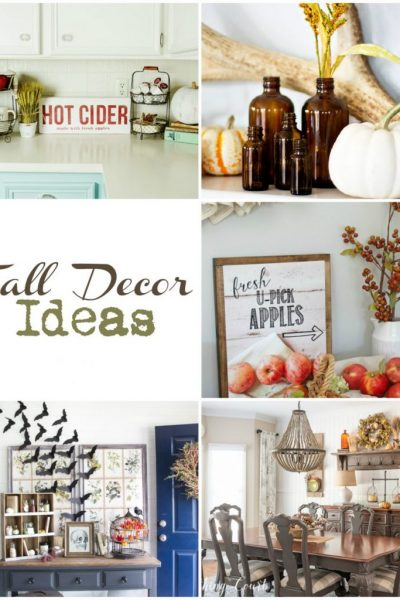 Fall Decor Ideas | Link party