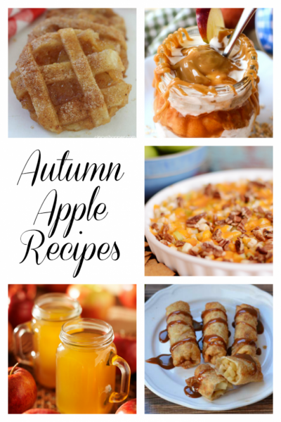Autumn Apple Recipes | Link Party