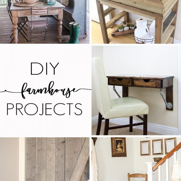 DIY Farmhouse Projects | Link party
