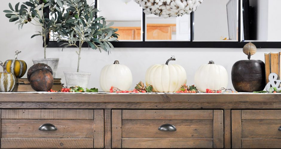 Welcoming Fall Entryway | Home Tour