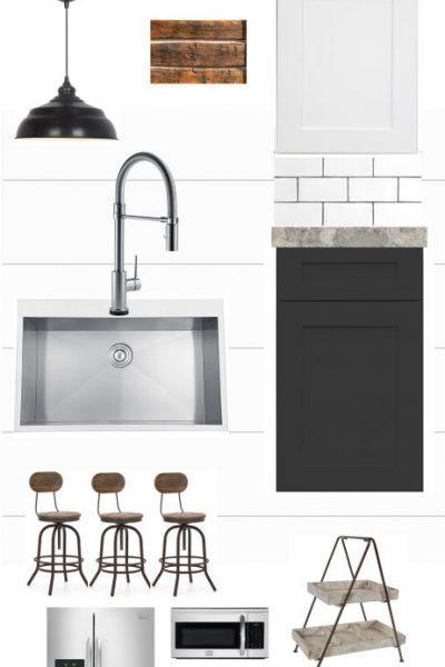 Modern Farmhouse Kitchen Design Plans