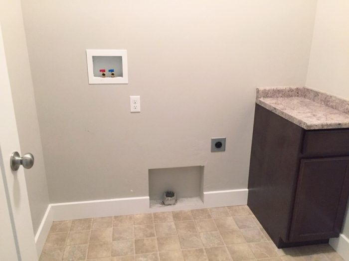 laundry room vinyl floors