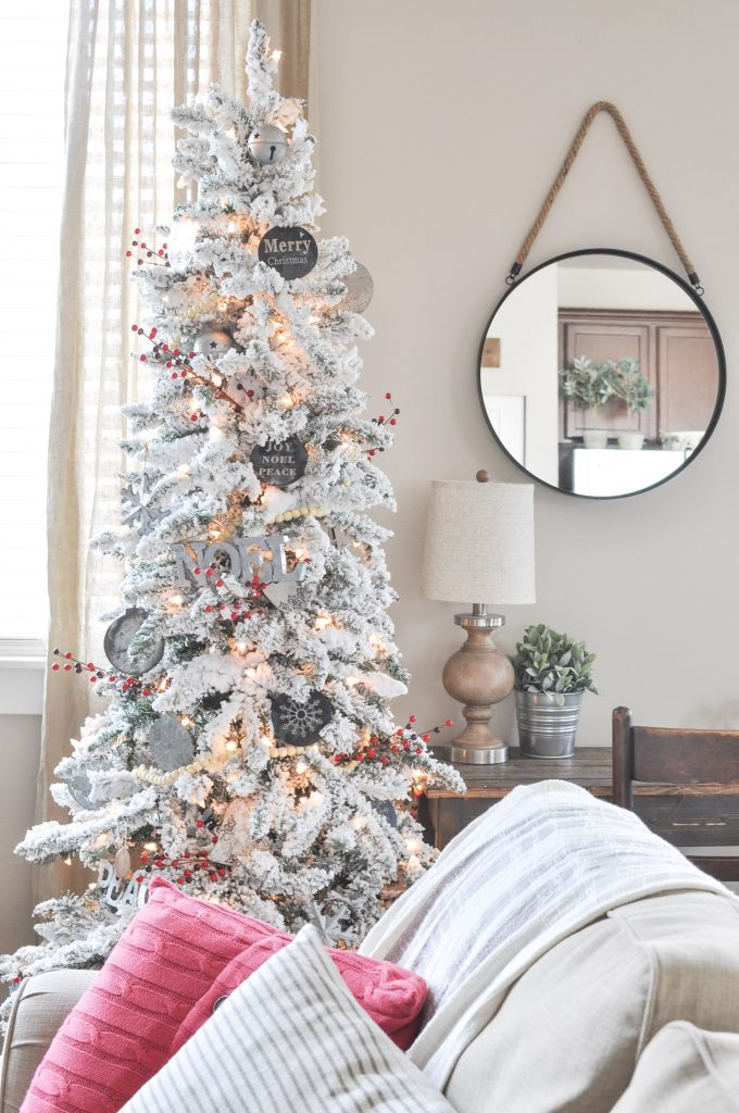 Modern farmhouse christmas tree cherished bliss