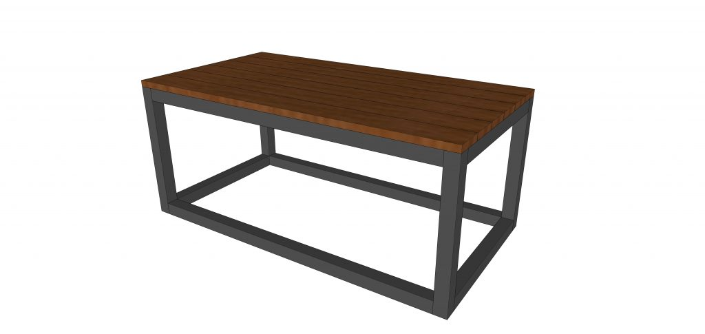 Industrial Farmhouse Coffee Table Free Plans Cherished Bliss