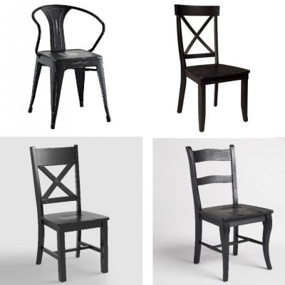 Black Dining Room Chairs | Sunday Shopping Guide
