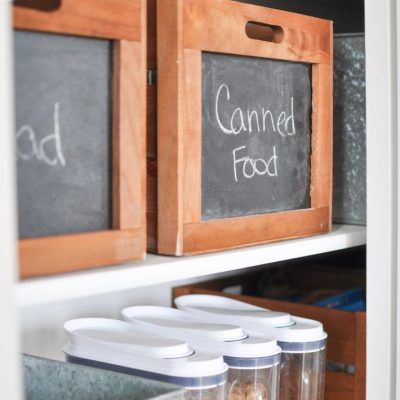 Farmhouse Pantry Organization Tips