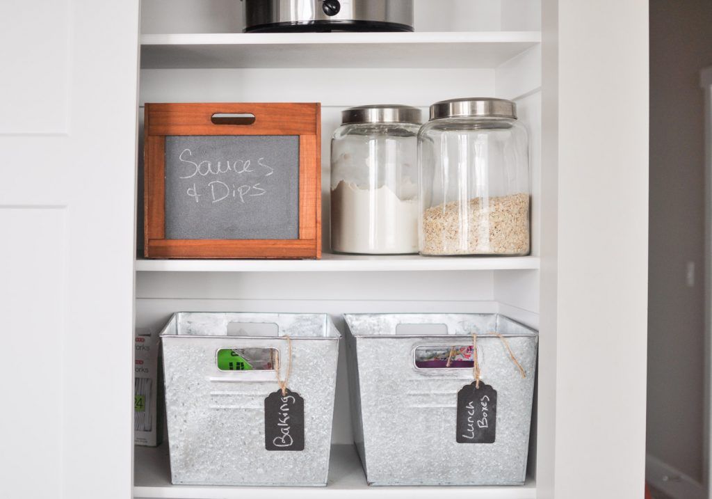 Farmhouse Pantry Organization