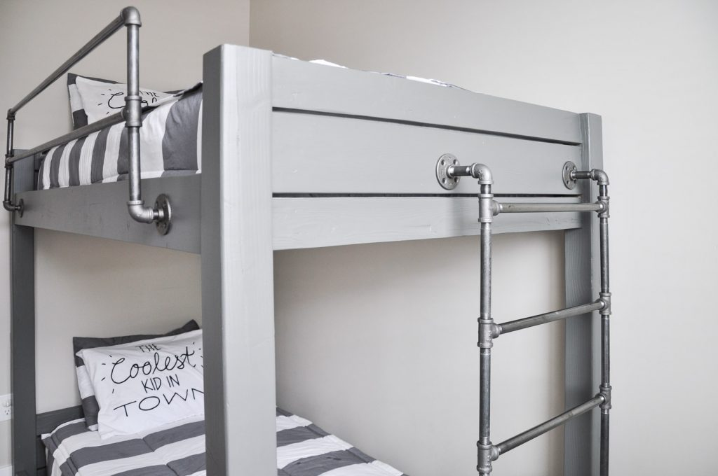 Advantages Of Utilizing Loft Beds For Kids Plans Get the Free Plans for this DIY Industrial Bunk Bed!