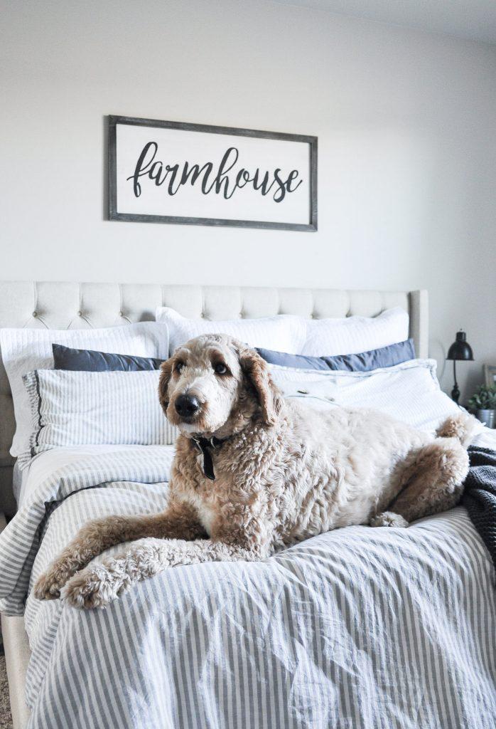Modern Farmhouse Master Bedroom