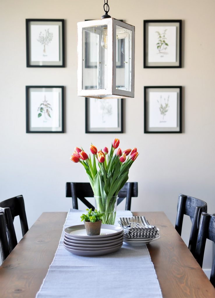 these lovely free spring herb printables are a simple a cheap way to decorate your home