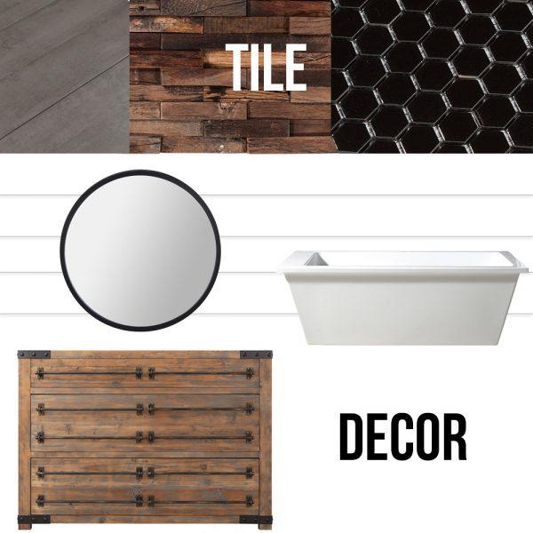 How to Design the Perfect Farmhouse Bathroom | 3 Ways