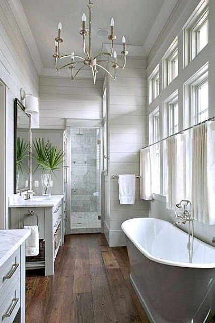 How to Design the Perfect Farmhouse Bathroom | 3 Ways