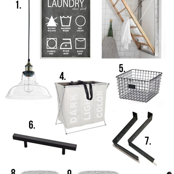 Industrial Farmhouse Laundry Room Design Plans