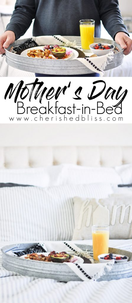 Bring the special mom in your life Breakfast in Bed this Mother's Day!!