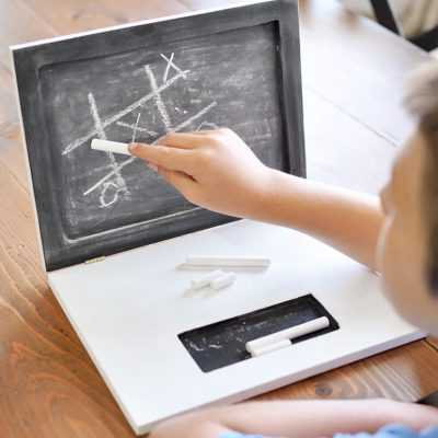How to Build a Laptop Chalkboard