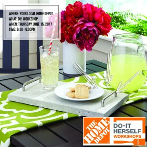 Concrete Tray | DIH Workshop