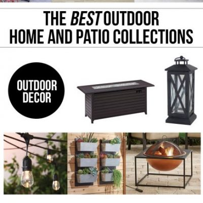 The Best Outdoor Furniture & Decor