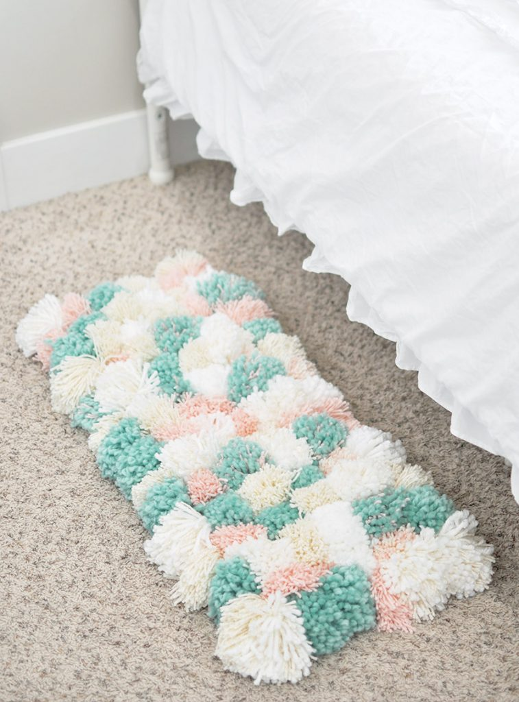 How To Make A Pom Rug The Easy Way