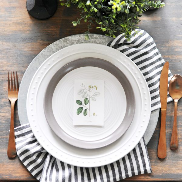 Fall Botanical Printables for Place Settings