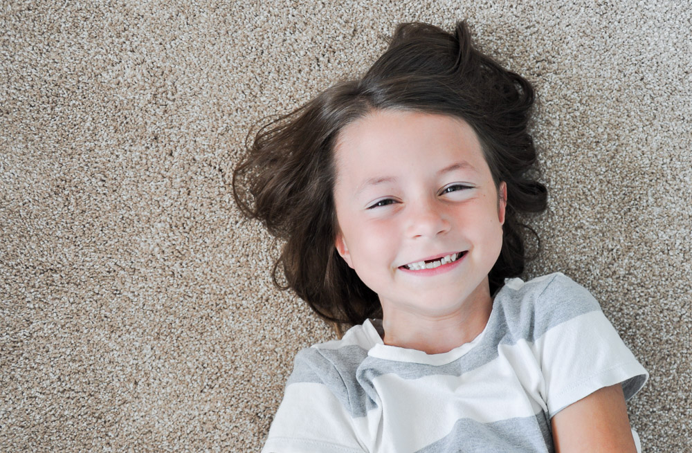 Kid Friendly Carpet for Your Home! #sponsored