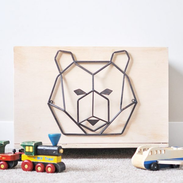 Easy Rolling Toy Box Free Plans