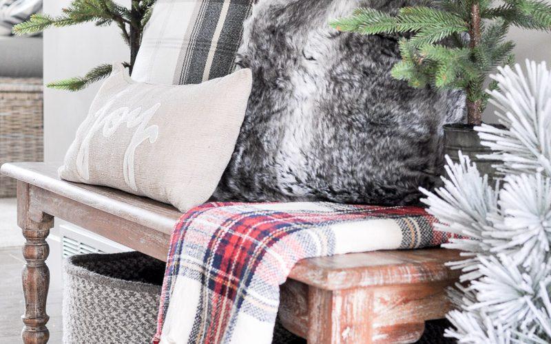 Cozy Christmas Entryway Tour 2017 +$500 Kirkland's Giveaway