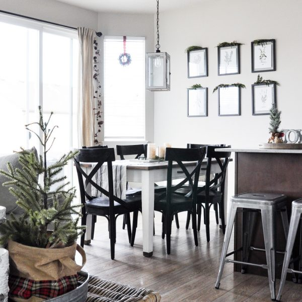 Christmas Kitchen & Dining Room Tour