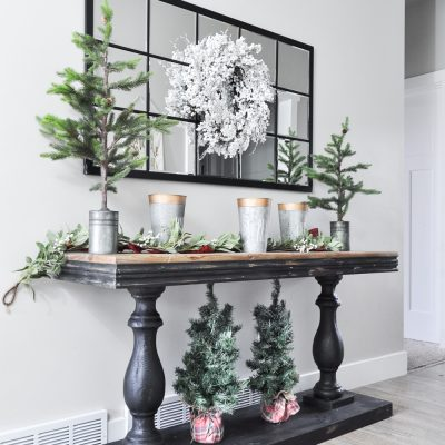 Winter Entryway Tour