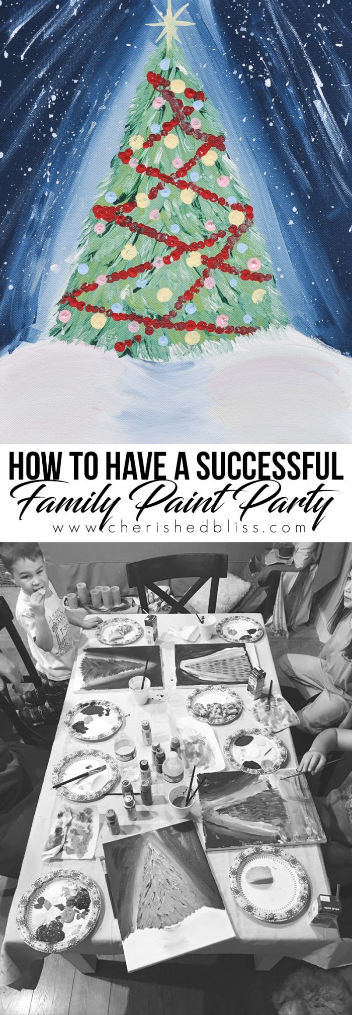 Create special memories by joining this fun Paint With Plaid Night. These tips will help provide a Successful Family Paint Party!