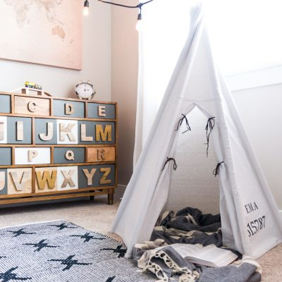How to Make a DIY Teepee for Kids