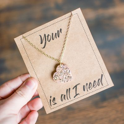 Your Love is All I Need Valentine's Day Card