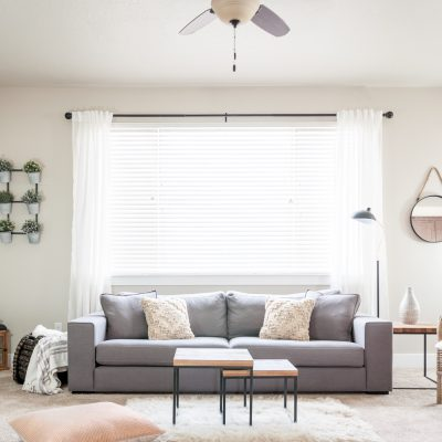 Minimalist Living Room Decor Makeover