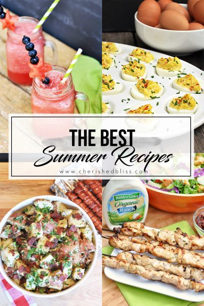 The Best Summer Recipes for a Cookout
