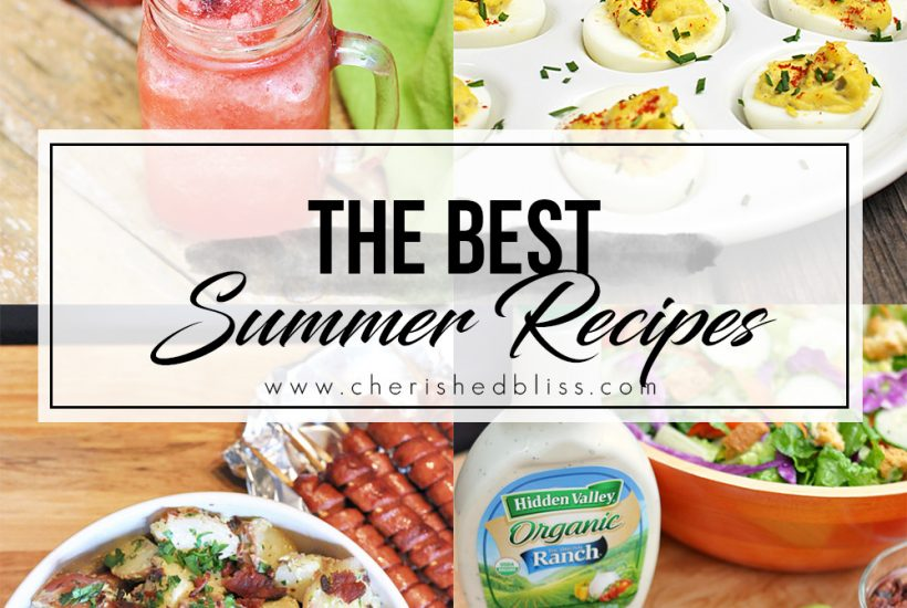 Have a fun filled friends or family cookout planned? Here is a list of the BEST Summer Recipes for a cookout that are sure to leave you and everyone around you drooling!