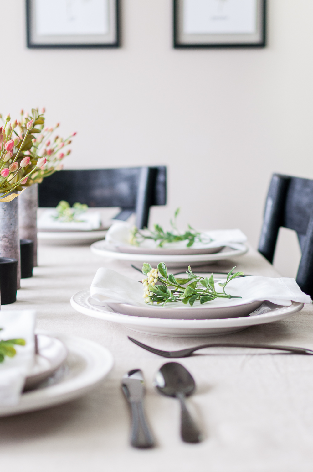 How to Set a Tablescape in 5 Easy Steps || Summer Decor