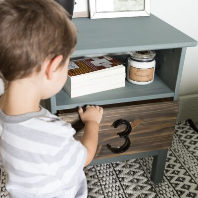 Ikea Tarva Nightstand Hack - An Easy Tutorial