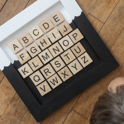 Magnetic Alphabet Chart for Kids