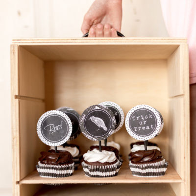 Halloween Cupcake Toppers - Free Printable