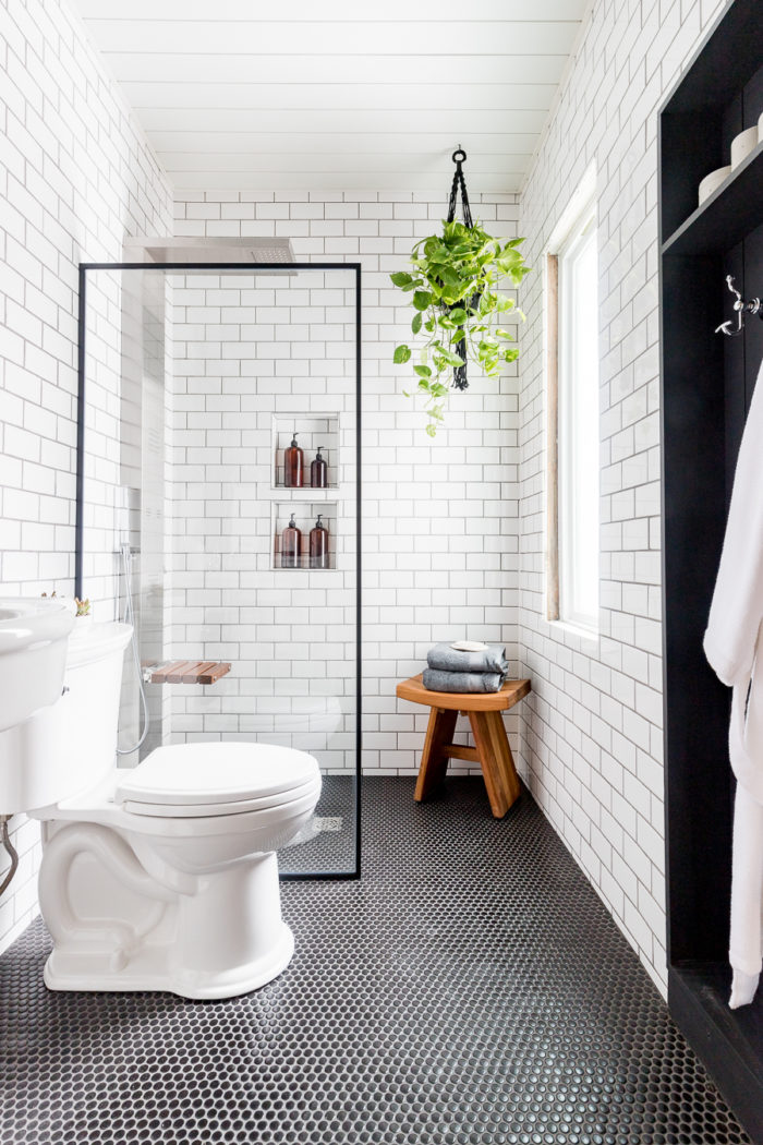 Peachy Black And White Industrial Bathroom Cherished Bliss Download Free Architecture Designs Pushbritishbridgeorg