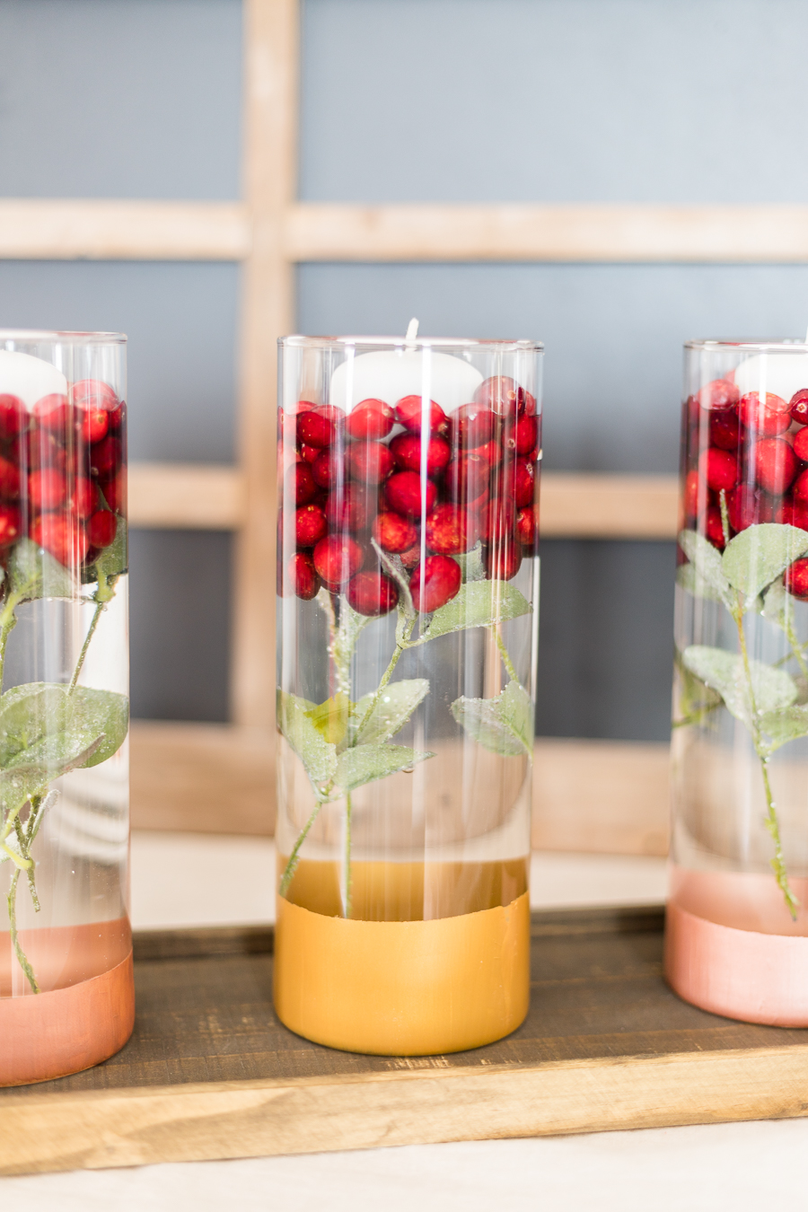 Easy Cranberry Holiday Centerpiece Tutorial Cherished Bliss