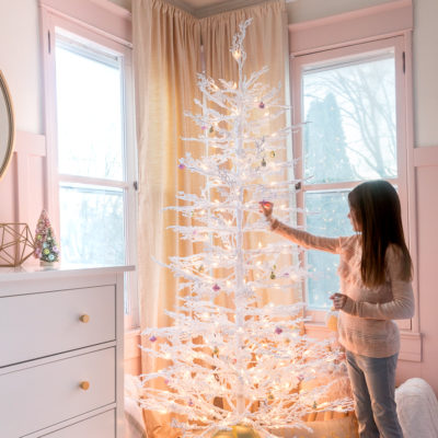 Little Girl Christmas Tree Decor