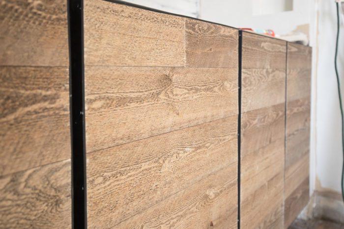 DIY Rustic Industrial Cabinet Doors Tutorial - Cherished Bliss