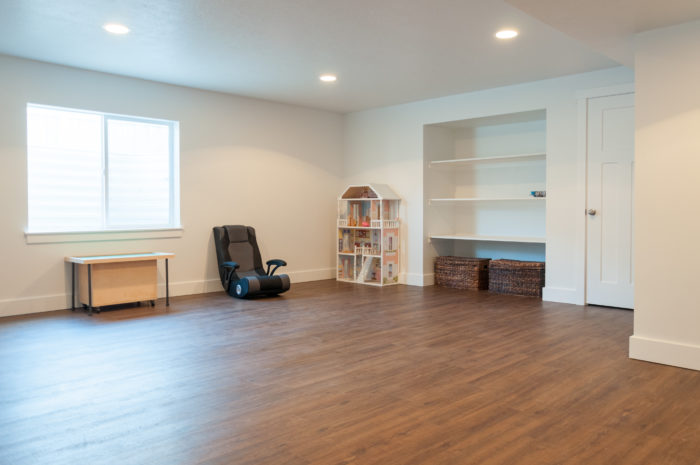 Finish your basement to add square footage