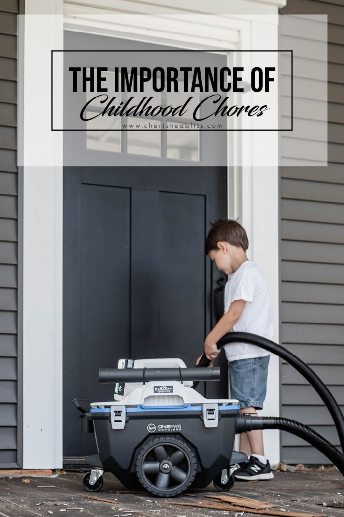 Childhood Chores are a big area of growth for our children and help emphasize responsibility and the importance of hard work. I'm sharing how we use the new Hoover OnePWR products to teach our kids how to clean!