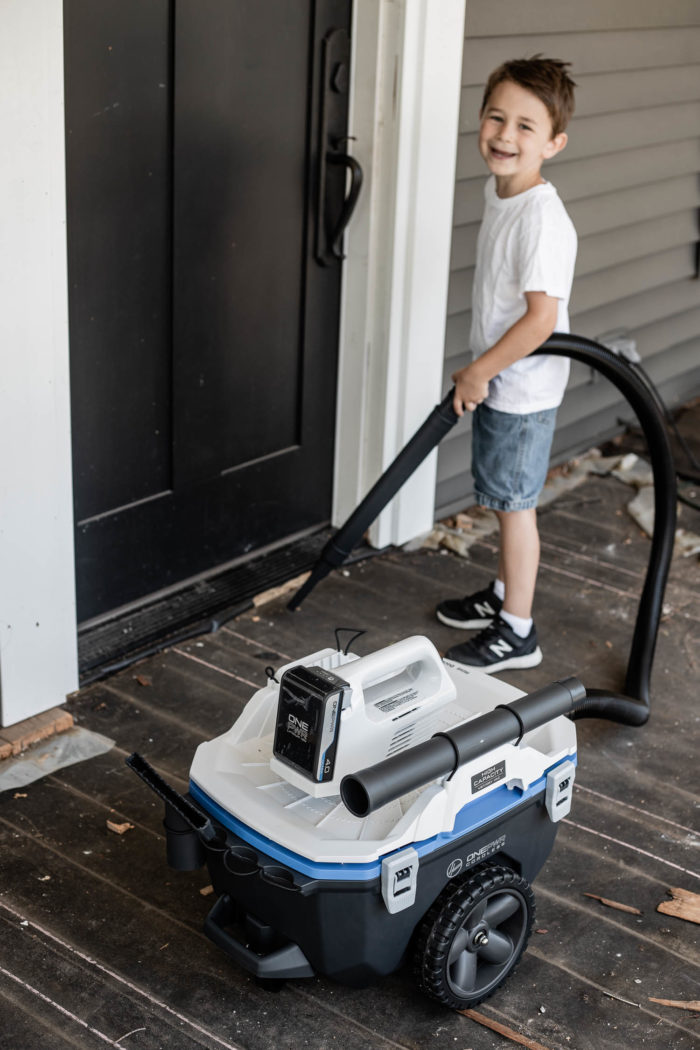 Hoover OnePWR Wet/Dry Vac for cleaning up remodeling projects.