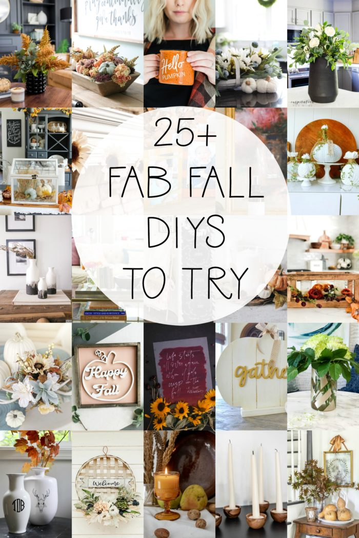 25 Fall DIY's you can accomplish!