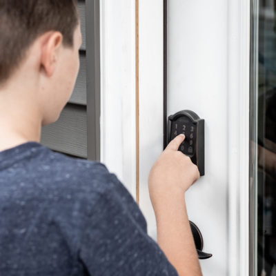 Back Door Update with Schlage Encode™