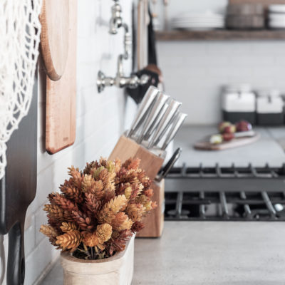 Kitchen Fall Decor for the Minimalist
