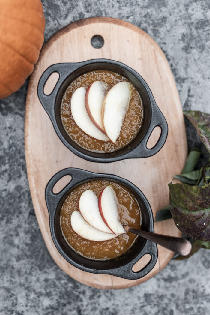 Use an Instant Pot to make homemade applesauce quickly.